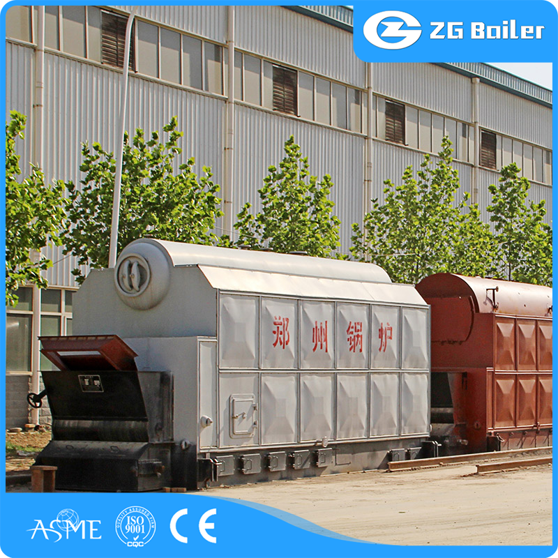 china corner-tube hot water boiler factory
