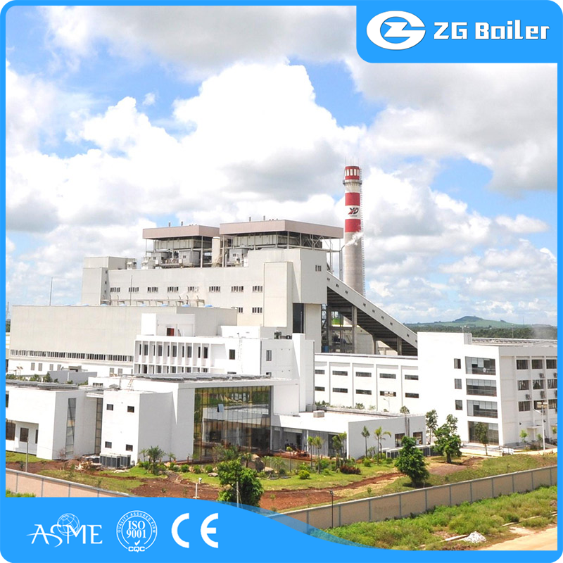 waste heat recovery boiler in cement plant