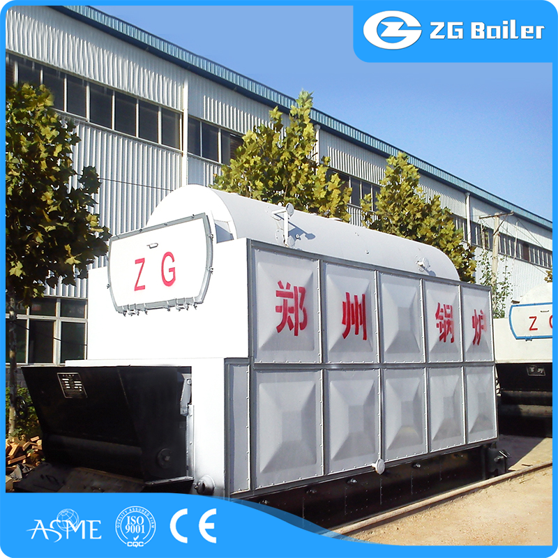 cheap biomass fired chain grate steam boiler