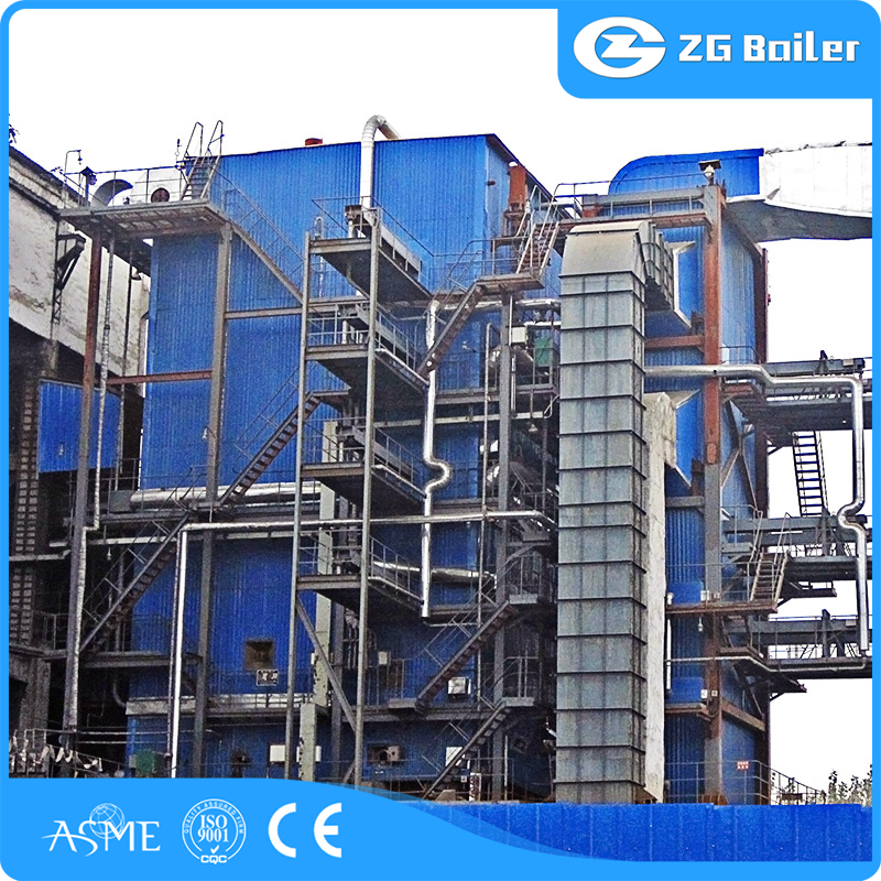 energy-saving step grate woodchip fired steam boiler