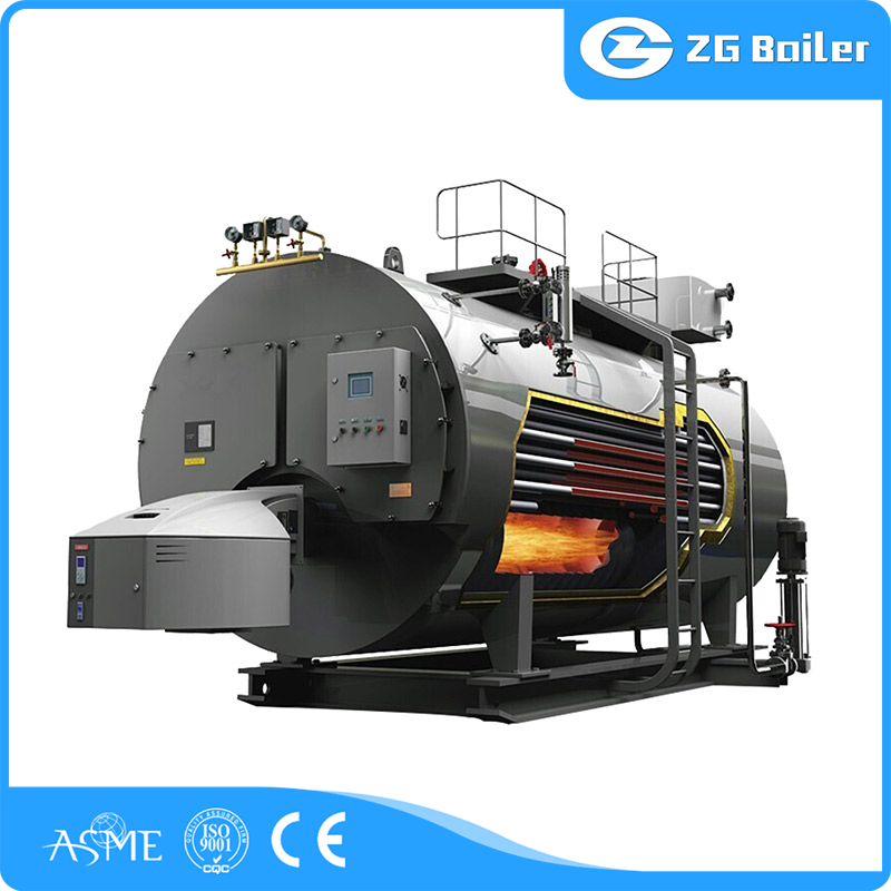 steam boiler working principle