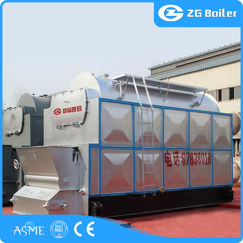 longitudinal drum boiler