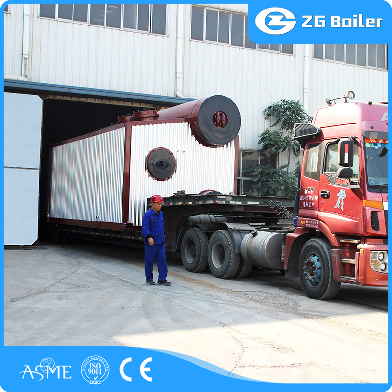 selling single drum coal-fired steam hot water boiler