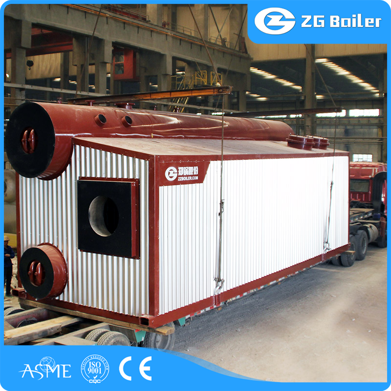 china water tube double-drum boiler