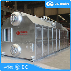 SZL coal fired hot water boiler