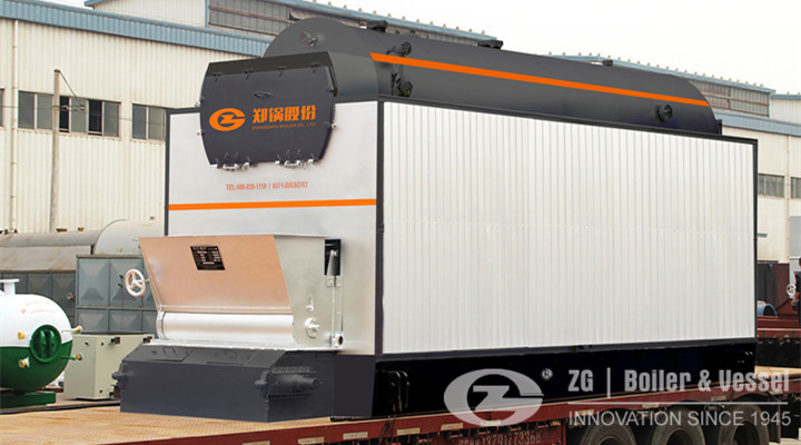 Biomass fired steam boiler in Philippines.jpg