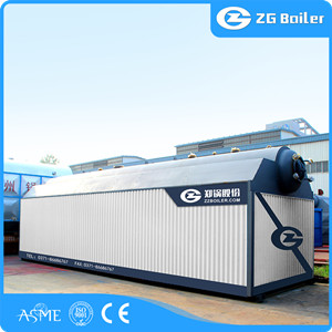 DZL coal fired steam boiler