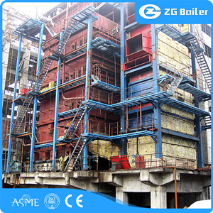 Calcium carbide furnace waste heat boiler